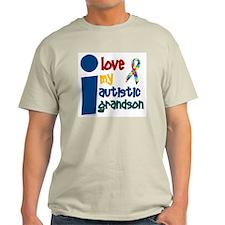 I Love My Autistic Grandson 1 T-Shirt
