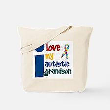 I Love My Autistic Grandson 1 Tote Bag