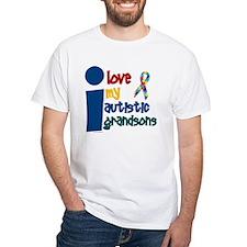 I Love My Autistic Grandsons 1 Shirt