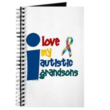 I Love My Autistic Grandsons 1 Journal