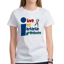 I Love My Autistic Grandsons 1 Tee