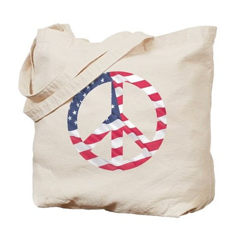 Peace Flag Tote Bag