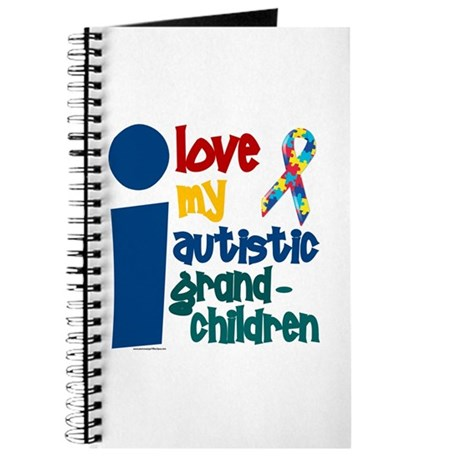 I Love My Autistic Grandchildren 1 Journal
