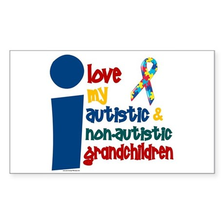 I Love My Autistic & NonAutistic Grandchildren 1 S