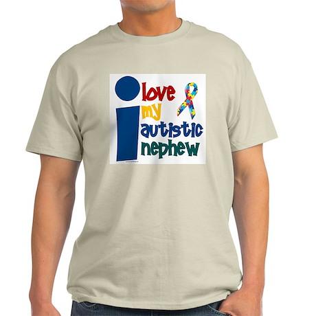 I Love My Autistic Nephew 1 Light T-Shirt
