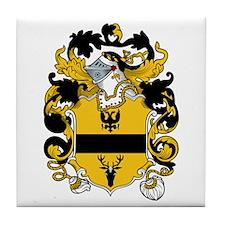 Feld Family Crest Tile Coaster