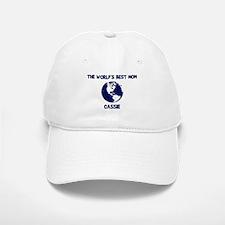 CASSIE - Worlds Best Mom Baseball Baseball Cap