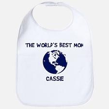 CASSIE - Worlds Best Mom Bib