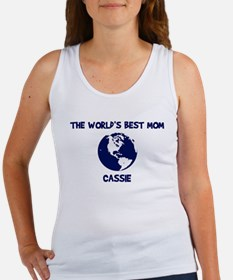 CASSIE - Worlds Best Mom Women's Tank Top