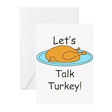 Talk Turkey Greeting Cards (Pk of 10)