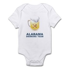 Alabama Drinking Team Infant Bodysuit