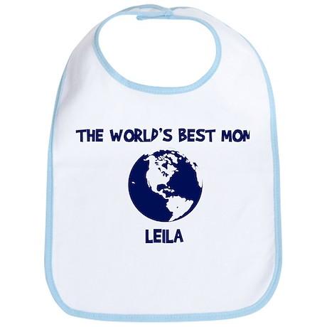 LEILA - Worlds Best Mom Bib