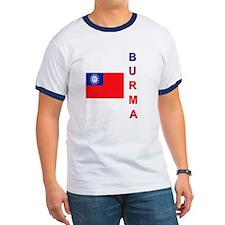 Burma Flag 2 T