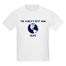 OLIVE - Worlds Best Mom T-Shirt