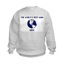 NIKKI - Worlds Best Mom Sweatshirt