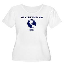 NIKKI - Worlds Best Mom T-Shirt