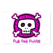 Punk Rock Padding Postcards (Package of 8)