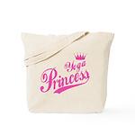 Yoga Princess Tote Bag