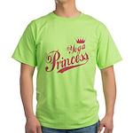 Yoga Princess Green T-Shirt