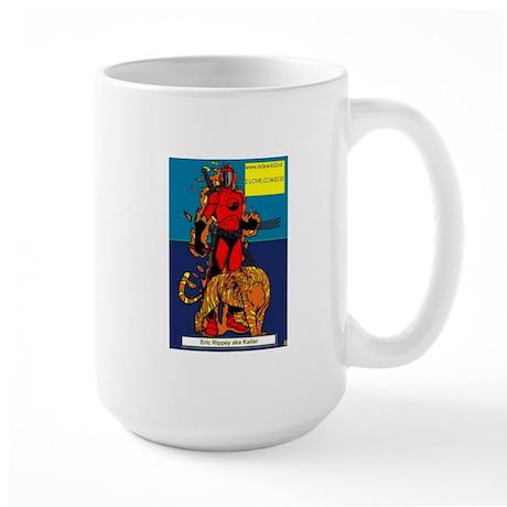 Large Mug with Suphero Design