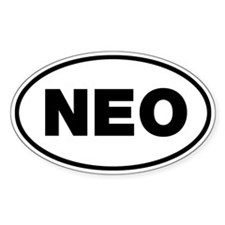 NEO Oval Decal