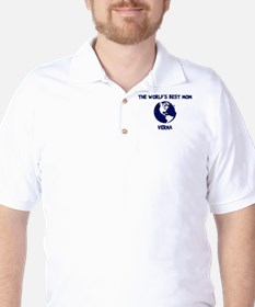 VERNA - Worlds Best Mom Golf Shirt