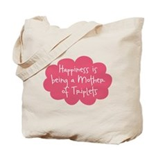 Mother of Triplets Tote Bag