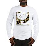 Camo Sleepy Cat Long Sleeve T-Shirt