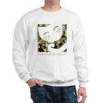 Camo Sleepy Cat Sweatshirt