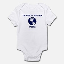 VALERIA - Worlds Best Mom Infant Bodysuit