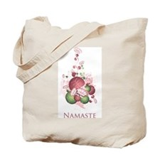 Yoga Lotus Namaste Tote Bag