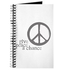Give Peace a Chance - Grey Journal