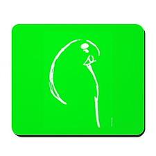 Green Budgie Mousepad
