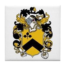 Foote Family Crest Tile Coaster