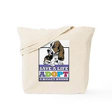 Basset Hound Rescue Tote Bag