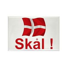 Danish Skal Rectangle Magnet