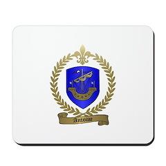 ANTOINE Family Crest Mousepad