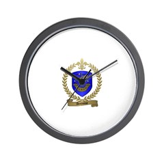 ANTOINE Family Crest Wall Clock