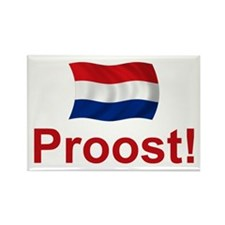 Dutch Proost Rectangle Magnet