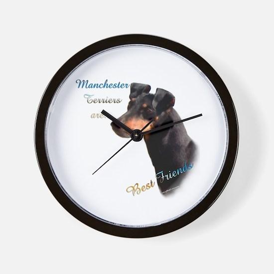 Manchester Best Friend 1 Wall Clock