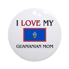 uamanian Mom Ornament (Round)