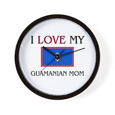 uamanian Mom Wall Clock