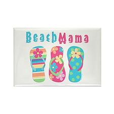 Beach Mama Rectangle Magnet