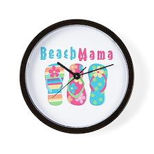 Beach Mama Wall Clock
