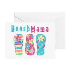 Beach Mama Greeting Card
