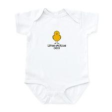 Libyan American Infant Bodysuit