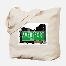 AMERSFORT PLACE, BROOKLYN, NYC Tote Bag