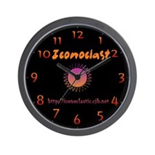 Funny Iconoclast Wall Clock
