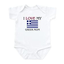 I Love My Greek Mom Infant Bodysuit