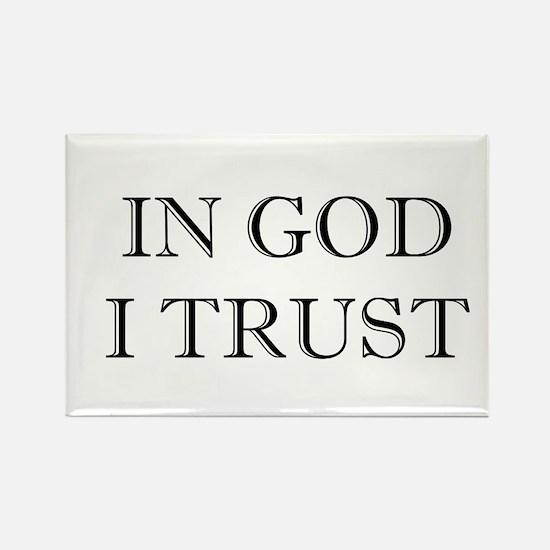 In God I Trust Rectangle Magnet